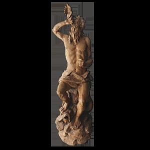Antiga Escultura em Terracotta
