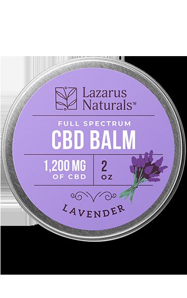 1200mg Lavender Balm