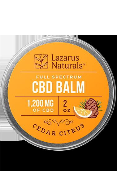 1200mg Cedar Citrus Balm