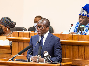 Message de monsieur Patrice TALON, Président de la République, Chef de l'État, Chef du Gouvernement