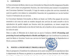 Recrutement de 31 Sages-Femmes d'Etat au profit des formations sanitaires de la Zone Sanitaire de Po