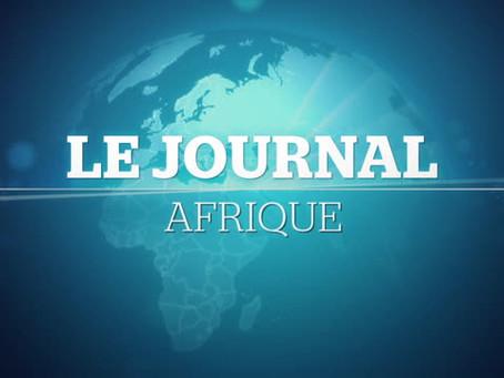 Le Journal Afrique du vendredi 23 octobre 2020.