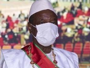 """Dans son discours d'investiture, le président Alpha Condé appelle les Guinéens à """"oublier le passé"""""""