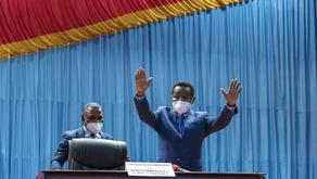 RDC: Christophe Mboso élu à la tête de l'Assemblée nationale