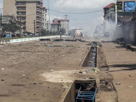 Guinée: Amnesty International dénonce «des tirs à balles réelles» des forces de sécurité