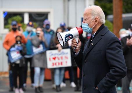 Moment de confusion embarrassant pour Biden, le jour de l'élection