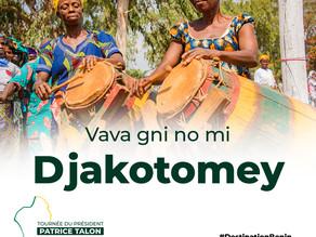 Tournée présidentielle : Djakotomey veut être une commune pilote de la gouvernance Talon