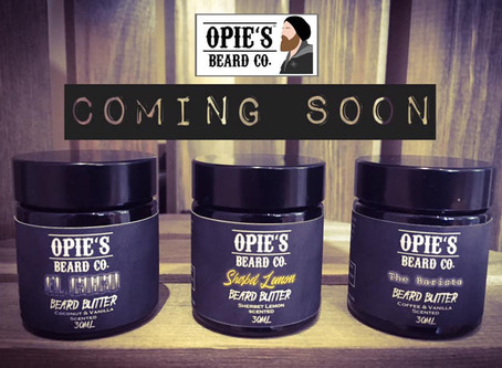 Beard Butters coming soon