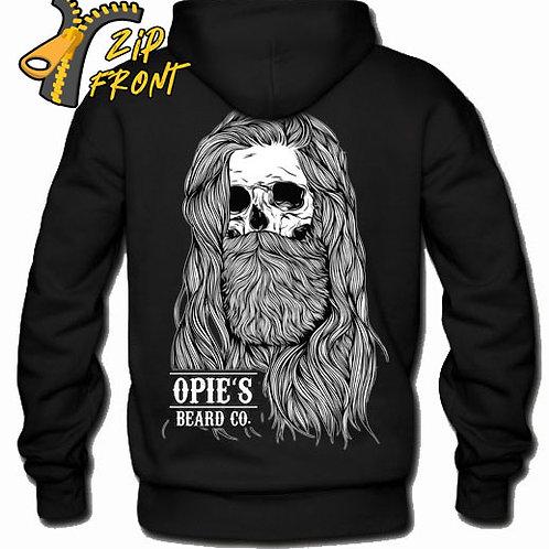 Opie's ZIP Hoodie Opie Skull