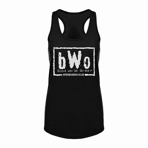 Ladies Racerback vest bWo
