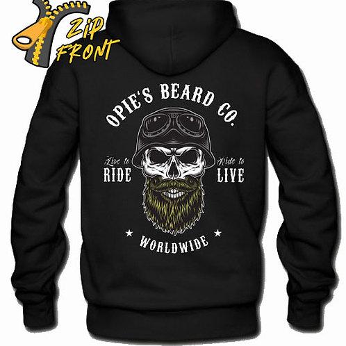 Opie's ZIP Hoodie Biker
