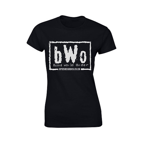 Ladies fitted tee bWo