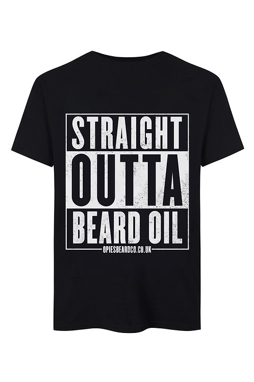 Straight Outta Beard Oil Tee