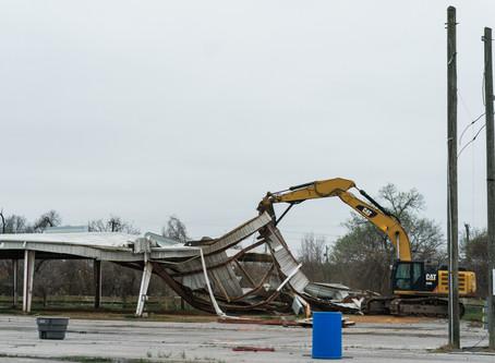 Demolition Begins At Fairgrounds