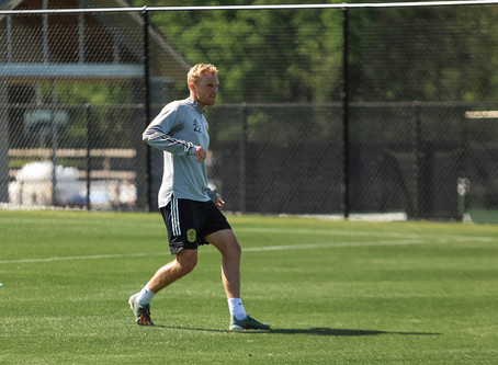 Nashville SC Players Return To Training Field
