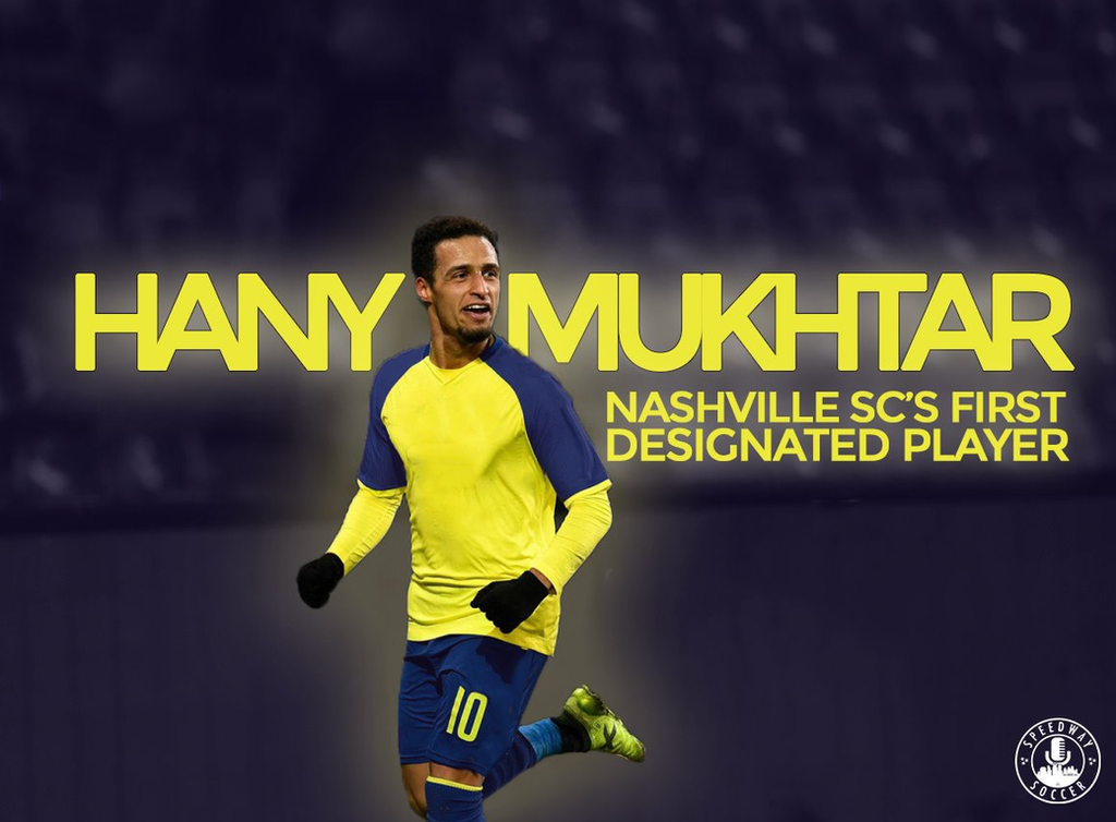 finest selection 49073 efec0 Nashville SC Sign Hany Mukhtar As Club's First Designated Player