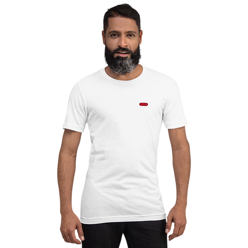 FAUX HAUSE, RED PILL COLLECTION. Short-Sleeve Unisex T-Shirt