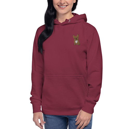 Unisex Hoodie - The Frenchie Collection