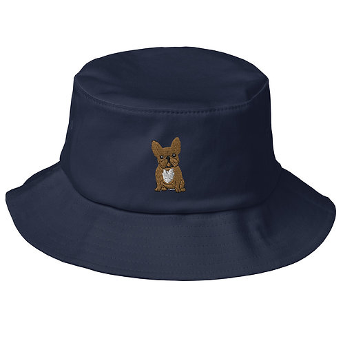 Old School Bucket Hat - The Frenchie Collection