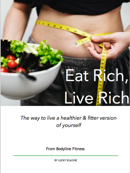 Nutrition eBook - Eat Rich, Live Rich