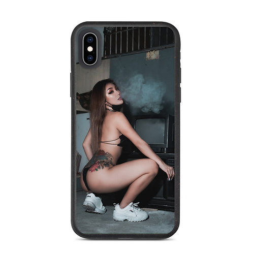 Love Me Breathe Me - Biodegradable phone case, by INGELICA LEE