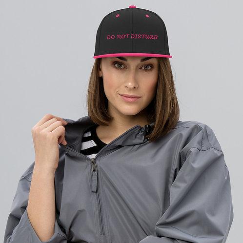 Do Not Disturb Snapback Hat