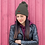 Thumbnail: FAUX HAUSE RED PILL COLLECTION, Pom-Pom Beanie
