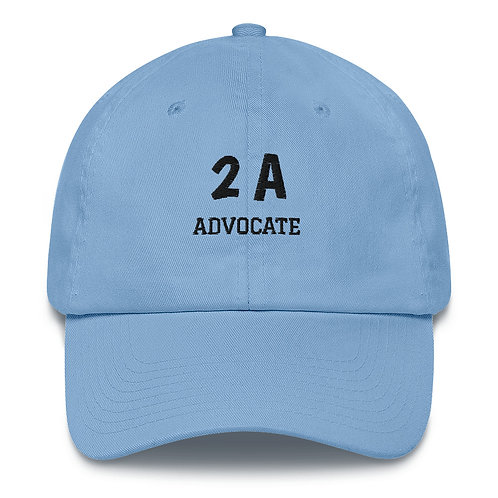 Cotton Cap - 2A Advocate!