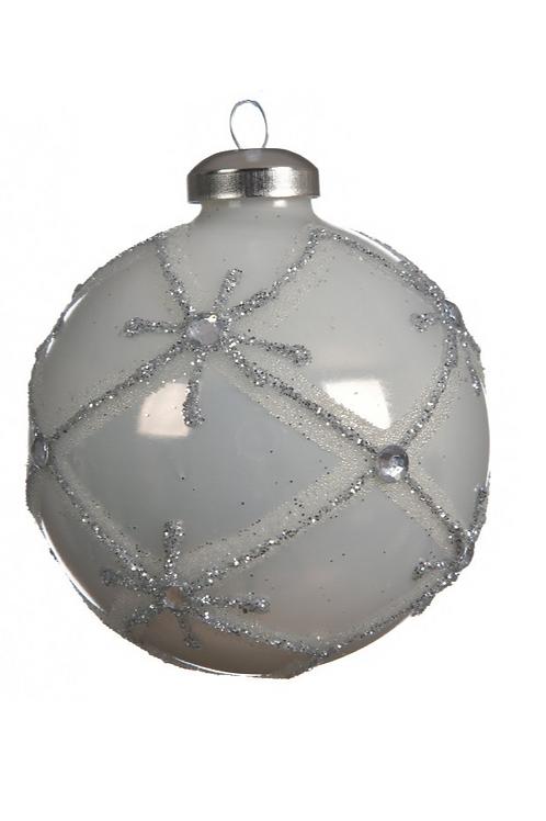 Boule en verre carreau Ø8cm