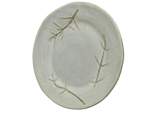 assiett plate t.c a/eucalyptus
