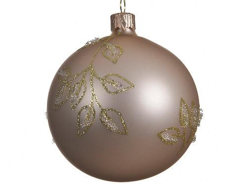 Boule verre décoration branches