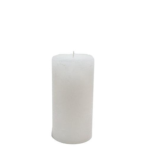 Bougie 7x15cm stompkaars white