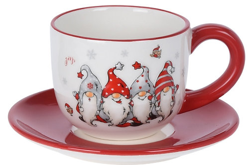 CUP AND SAUCER GNOME