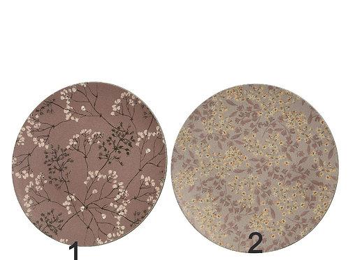 Sous assiette imitation cuir 2 motifs au choix