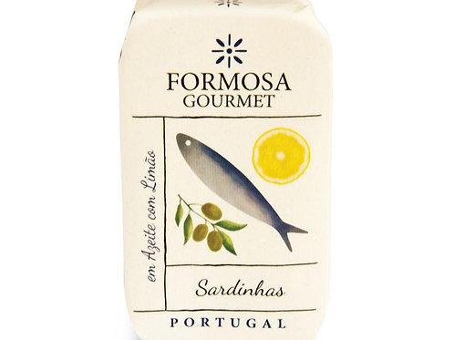 FORMOSA SARDINES H.O. ET CITRON 120 G
