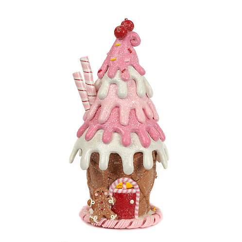 ICE CREAM HOUSE Pink 21 cm