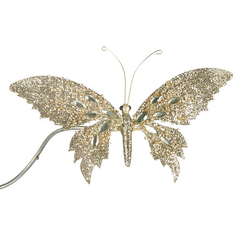 GLT JEWEL BUTTERFLY ON CLIP CHAMP 19CM