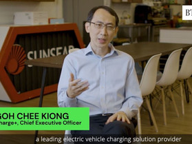 Charge+ CEO was interviewed by The Business Times about the Electric Vehicle Ecosystem in Singapore