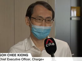 Charge+ CEO was interviewed by CNA on the governmental EV charging infrastructure tender win!