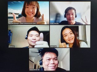 Charge+ and OCBC conducted a webinar session for Tesla buyers