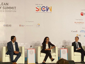 Charge+ CEO speaks about EVs at S'pore International Energy Week conference