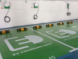 Announcement on Charge+ Tender Win for EV Charging Points in Public Carparks in Singapore.