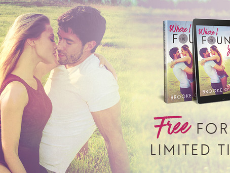Where I Found You is FREE for a limited time only!