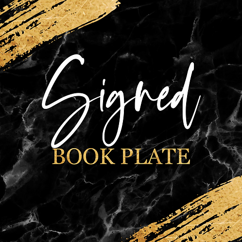 Signed Book Plate