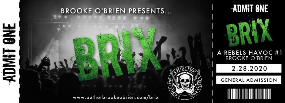 BRIX: Coming 2.28.20