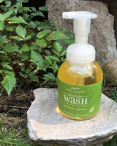 Rocky Mountain Foaming Soap - Lemongrass