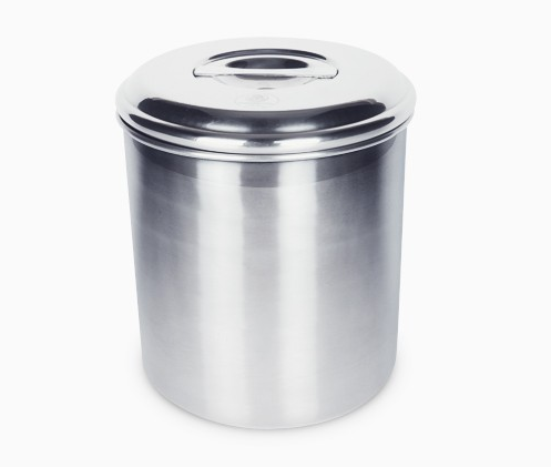Stainless Steel Compost Bin 6.5L