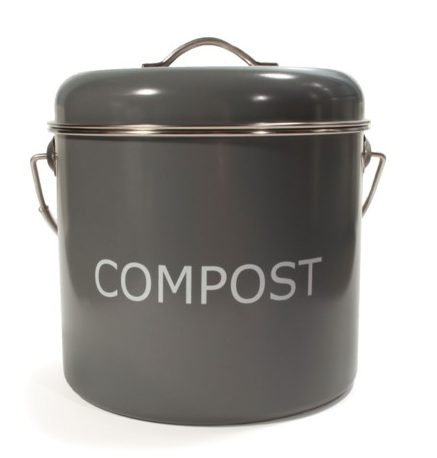 Compost Bin 5 Liter - Grey
