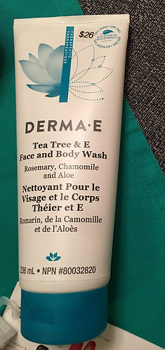 Derma•E Face and Body Wash (236ml)