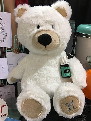 "Teddy Bear ""Snowball"" (incl. 5ml Essential Oil)"